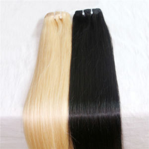 100% Human Hair Clip in Hair Extension Remy Malaysian Hair pictures & photos