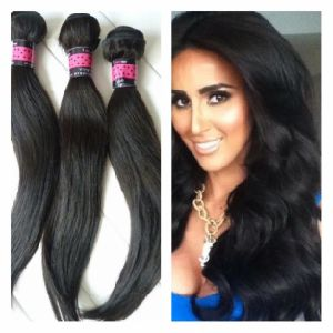 Premium Top Grade Virgin Remy Human Hair pictures & photos