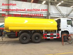 HOWO Water Tank Truck 6X4 16000L Sinotruk 371HP 12.00r20 Radial Tire pictures & photos
