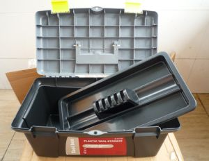 Multi-Fonction Toolboxes/Student Art Box with Plastic Palette/Painting Tool Box