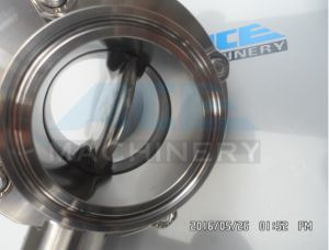 Stainless Steel Manual Welded Butterfly Valve (ACE-DF-3D) pictures & photos