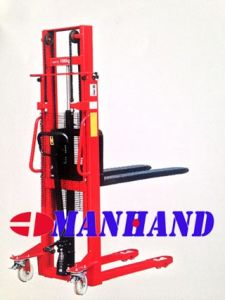 Narrow Leg Manual Stacker (Fixed Forks)