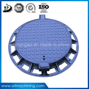 OEM/Custom Iron/Sand Casting Manhole Cover for Septic Tank Drainage pictures & photos