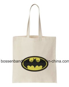 OEM Produce Customized Logo Printed Promotional Cartoon Cotton Canvas Craft Shopper Bag pictures & photos