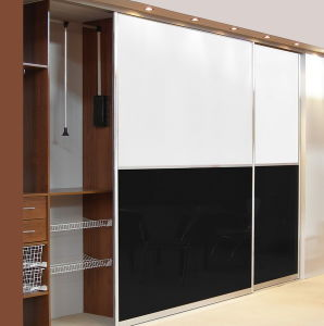 High Gloss Sliding Door Wardrobes Bf42 pictures & photos