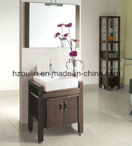 Classic Wooden Bathroom Furniture (BA-1136) pictures & photos