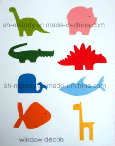 Unique Decoration Static Window Decal/Window Sticker/Static Sticker pictures & photos