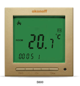 HVAC Electronic Floor Heating Digital Thermostat (S603PE) pictures & photos