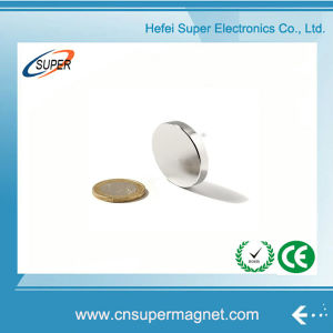 Low-Priced Neodymium Ultra Thin Disc Magnet pictures & photos