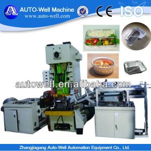 Semi-Auto Aluminium Foil Container Making Machine with Mould pictures & photos