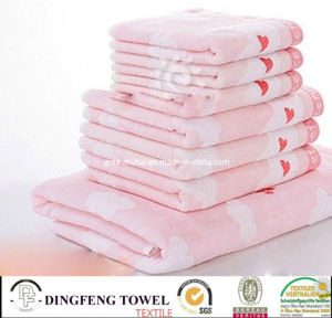 China Wholesale Supreme Cotton 4 Piece Guest Towel Set Cotton Towel pictures & photos