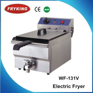 Ce Approved Stainless Steel Commercial French Fries Deep Fryers pictures & photos