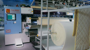 Yuxing Industrial Computerized Multi Needle Mattress Quilting Machine Can Do Tack and Jump Patterns pictures & photos