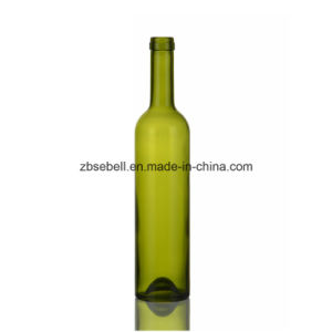750ml, 500ml, 375ml, 187ml Green Color Wine Bottle pictures & photos