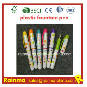 Color Plastic Fountain Pen with Nice Color pictures & photos