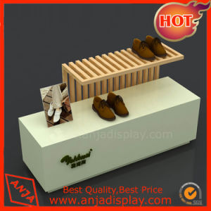 Wooden Shoes Table Display for Store pictures & photos
