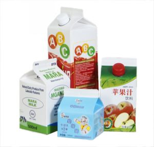 Aseptic Gable Top Carton for Juice pictures & photos