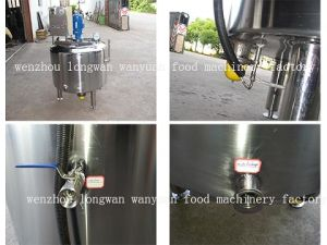 Electric Heating Sanitary Mixing Tank Agitator Vessel pictures & photos