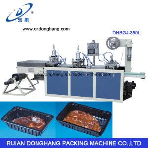 PS Food Box Making Machine (DHBGJ-350L) pictures & photos