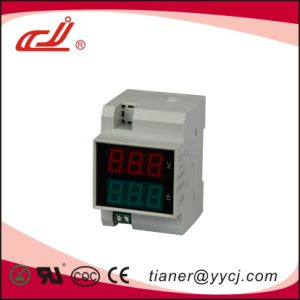 D52-2042 DIN-Rail with AC Voltage and Current Meter pictures & photos