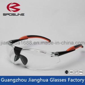 Custom Brands Machine Welding Goggle Clear Lens Color Dustproof Eye Glasses pictures & photos