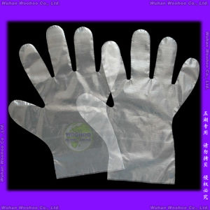 Disposable Food Service PE Gloves pictures & photos