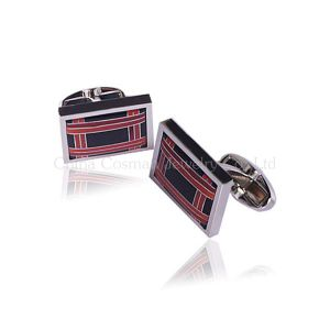 Classic Fashion Men′s Silver Wedding Cufflinks pictures & photos