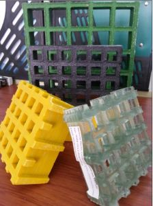 """Anti-Slip FRP Grating 1-1/2"""" Thick, 1-1/2"""" Square Mesh Grating pictures & photos"""