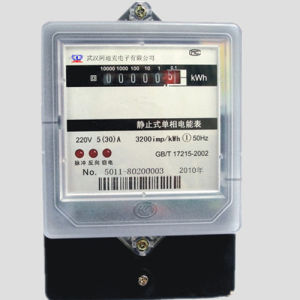 IEC62053-21 Single Phase Intelligent Electronic Energy Meter pictures & photos