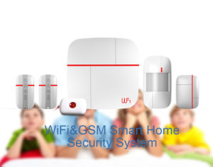 Smart Home Alarm System with Dual-Network WiFi & GSM pictures & photos