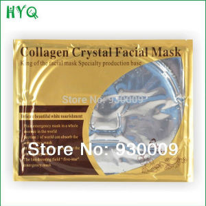 Gold Bio Whitening Moisturizing Collagen Crystal Transparent Facial Mask pictures & photos