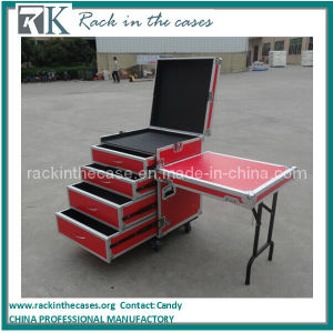Rk Wholesale Aluminum Rack Drawer Storage Case with Casters pictures & photos