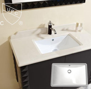 Cupc Approved Rectangular Bathroom Sinks pictures & photos