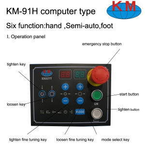 China Best Hose Crimping Machine Km-91h pictures & photos