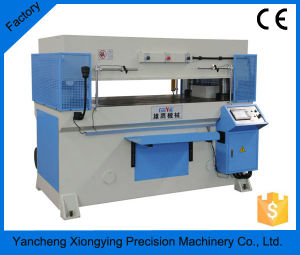 Precision Four Column Hydraulic Plane Fabric Cutting Machine/Leather Cutting Machine pictures & photos