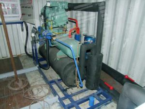 America Copeland Compressor R404A Refrigerant Containerized Ice Block (MBC60) pictures & photos