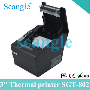 POS Thermal Printer with Auto-Cutter/80mm Thermal Receipt Printer with All in One Interface pictures & photos