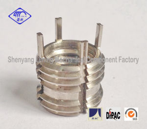 10*1.25 Key-Locking Screw Thread Insert Fasteners with Mj Locking Thread