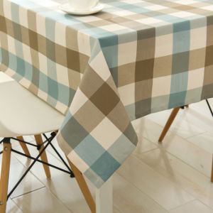 Custom Cheap China Rectangular Lighted Polyester Table Cloth for Home