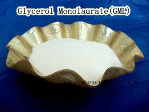 Distilled Glycerin Monolaurate/Gml-90min/ Food Preservatives+Emulisifer/C15h30o4