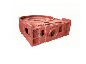 Cast Cylinder Head Iron by Sanding Casting pictures & photos