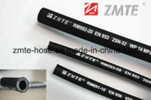 Zmte High Pressure Two Braid of Steel Wire 2sn Hydraulic Hose pictures & photos