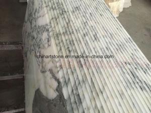 Stock Marble Bianco Arabascata White Stone Marble Slabs and Tiles pictures & photos