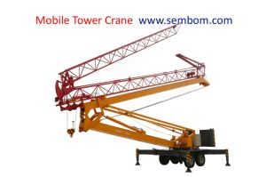 Mobile Foldingtower Crane for Lifting Heavy Stuff pictures & photos