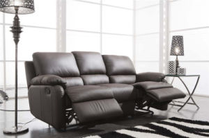 Electric Recliner Sofa USA L&P Mechanism Sofa Down Sofa (654#) pictures & photos