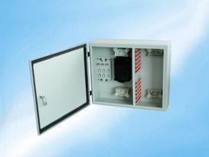 Premium Quality Hot Sale 1u/2u 12port/24port Sc Slidable Rack-Mount Fiber Optic Patch Panel pictures & photos