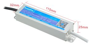 12V 20W Waterproof LED Power Source for LED Strip pictures & photos