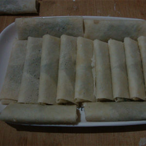 Salt Tsing Tao Vegetable Frozen 50g/piece Spring Rolls pictures & photos