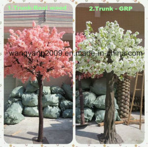 High Quality Factory Hot Sale Artificial Fake Handmade Sakura Cherry Blossom Tree for Decoration pictures & photos