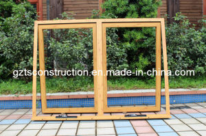 Aluminum Chain Winder Awning Window Double Glazing pictures & photos